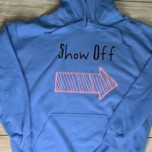 Show Off Arrow Kids Graphic Hoodie Various Sizes